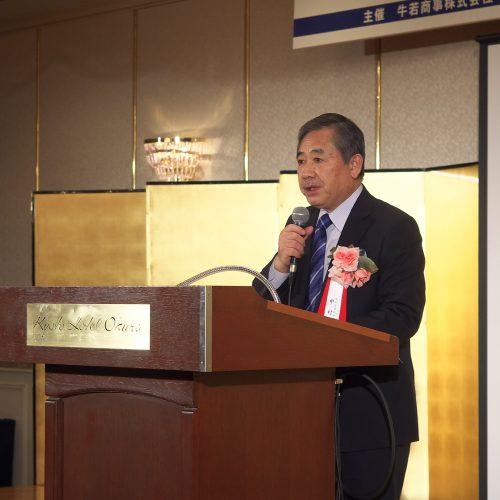 講師の中村勝宏氏は昨年、フランスの農事功労章の最高位「コマンドゥール」を受章