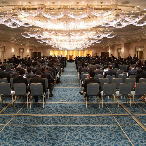 15時、第一部セミナーの開会です