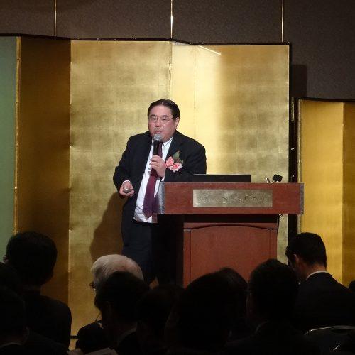 米国食肉輸出連合会ジャパンディレクター・山庄司岳道氏によるセミナー「アメリカン・ビーフのマーケット動向」