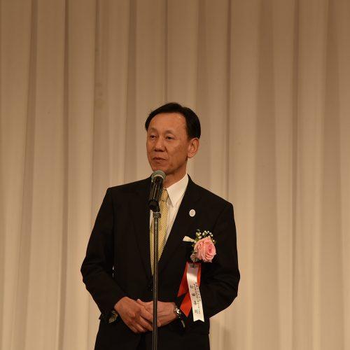 今年も帝国ホテル大阪 副総支配人の松田喜則氏よりご挨拶いただきました